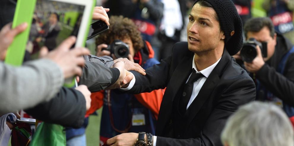 Cristiano Ronaldo, lesionado en un muslo, es duda para la final de Copa
