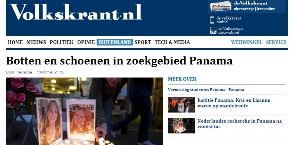 Nueva evidencia en el caso de las holandesas serán enviado a Panamá