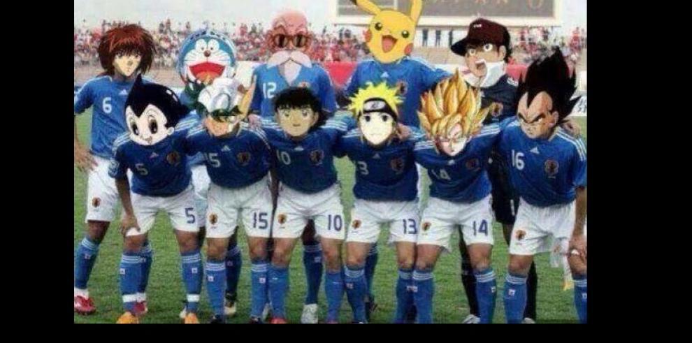 Memes de los partidos de Colombia, Inglaterra y Japón