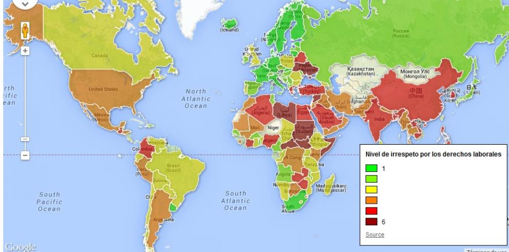 Estos son los peores países del mundo para trabajar