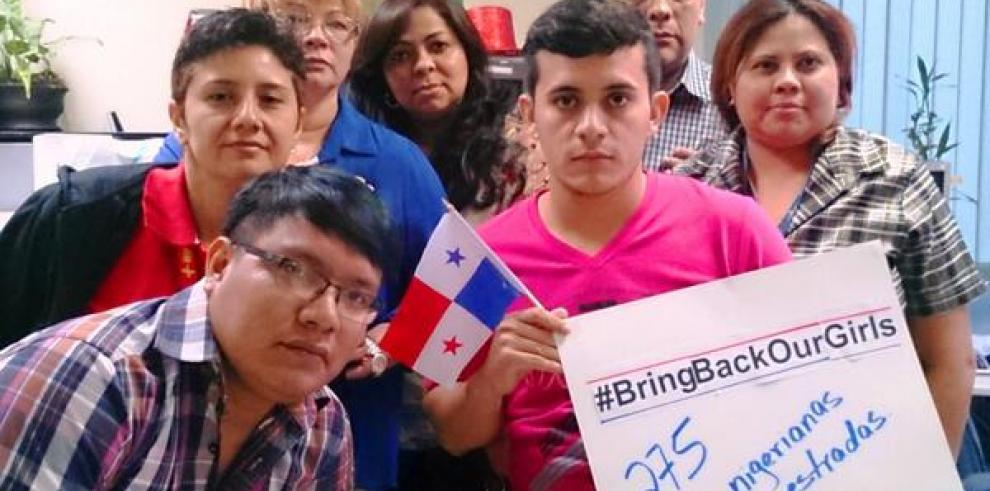 Panamá se suma a la campaña por las niñas secuestradas de Nigeria
