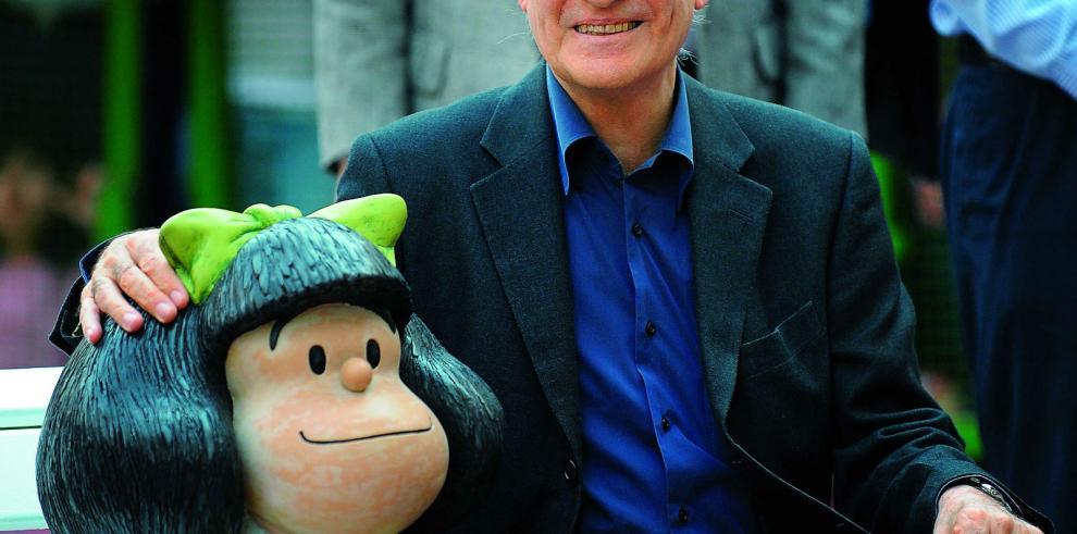 Creador de Mafalda gana el premio Príncipe de Asturias de Comunicación