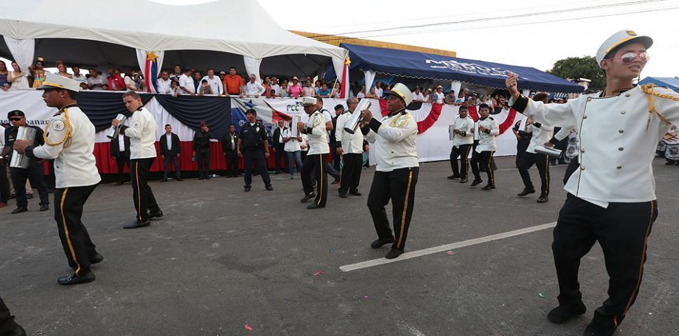 Varela cierra mes de las festividades patrias en La Chorrera