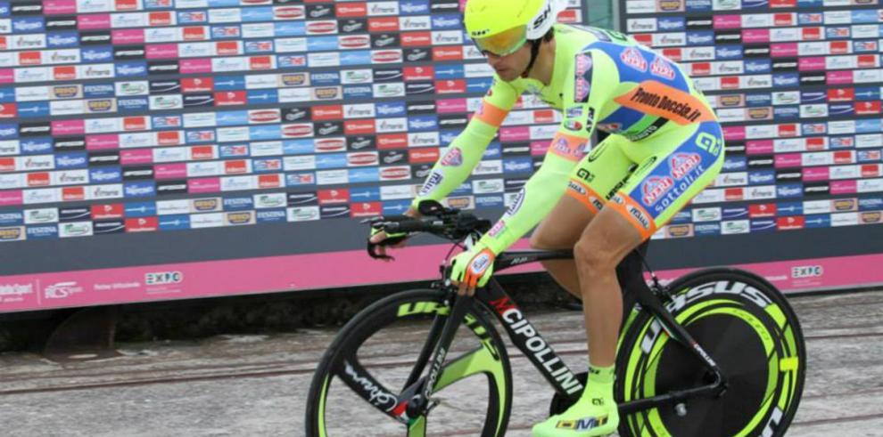 Carretero muestra valentía en el Giro