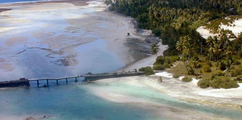 Islas Gilbert, en riesgo por cambio climático