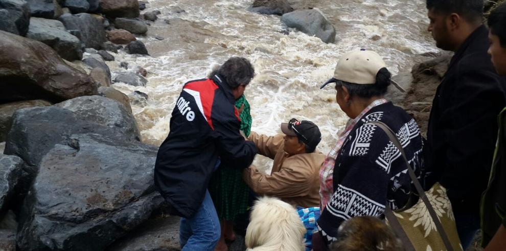 Mop enfrenta daños en puentes y vías afectadas en Cerro Punta