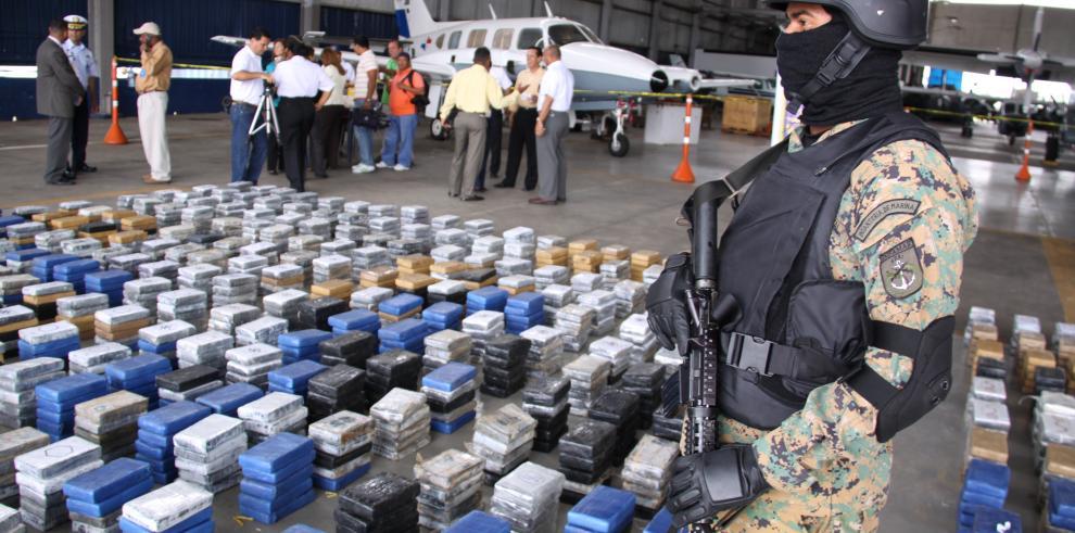 Senan ha incautado 110 toneladas de droga en seis años