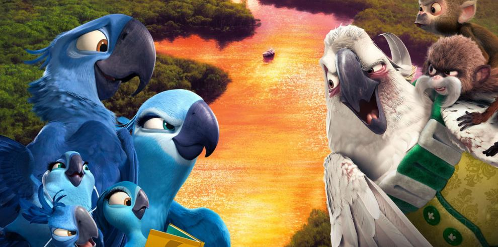 Guacamayos azules vuelven al carnaval