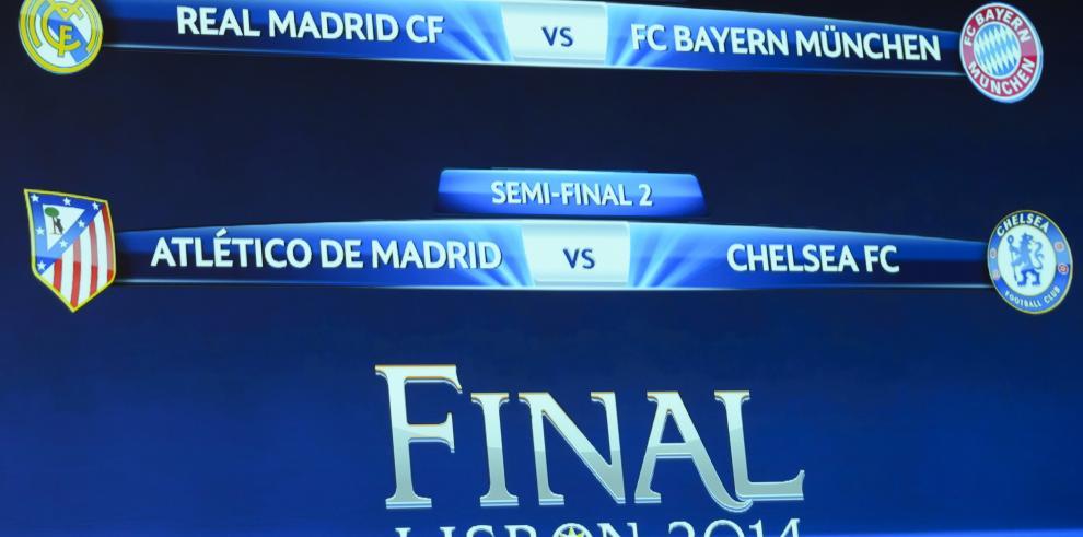 Real Madrid enfrenta a Bayern, Atlético al Chelsea