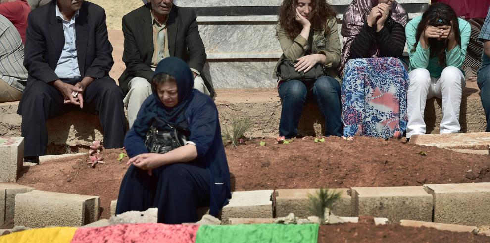 La lucha por Kobane, estratégica para kurdos y yihadistas