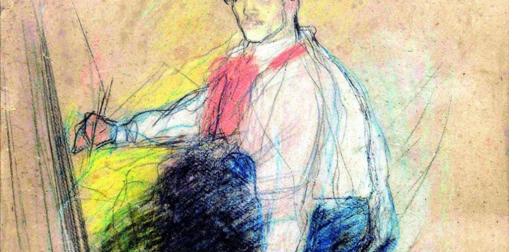 Autorretrato de Picasso expuesto por primera vez