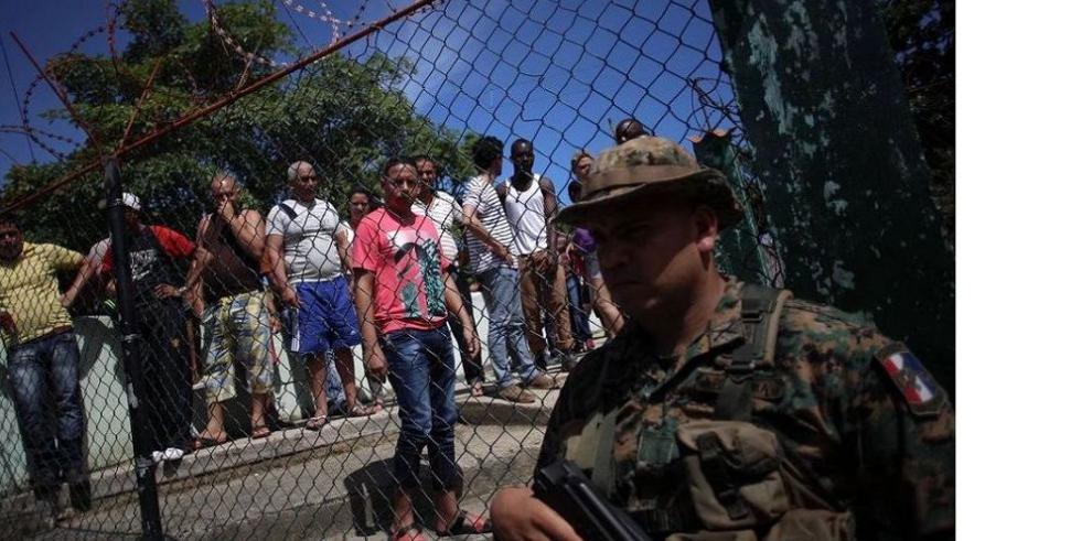200 inmigrantes parados en Darién