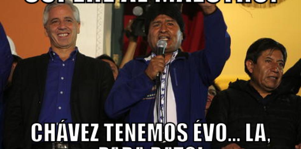 Evo Morales pensó que el ébola era un bicho