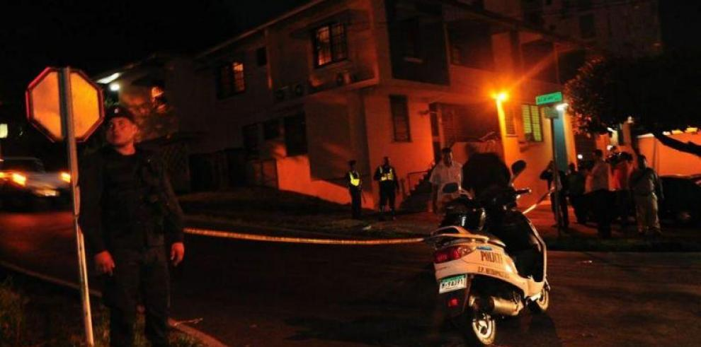Shooting at former President Moscoso's residence