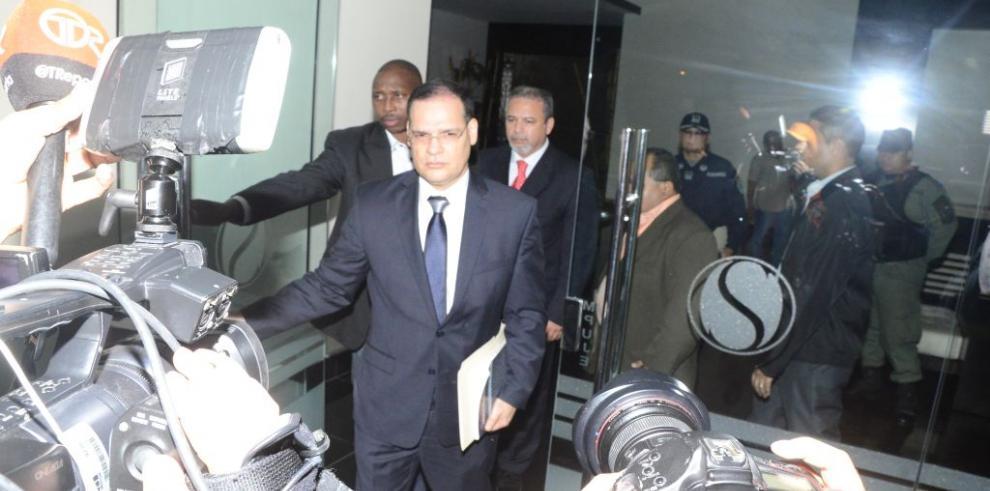 Autorizan orden de allanamiento en residencia del magistrado Moncada Luna