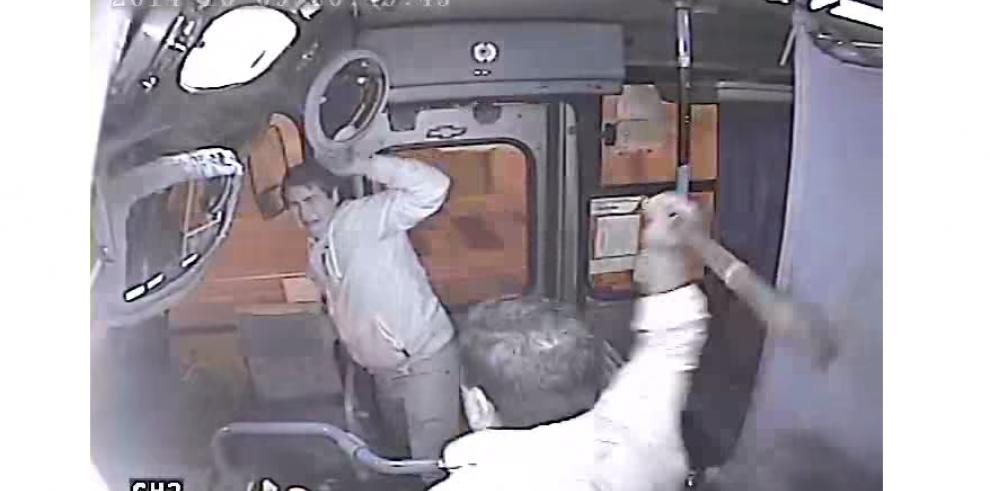 Ladrón fue agarrado con las manos en la puerta en Chile