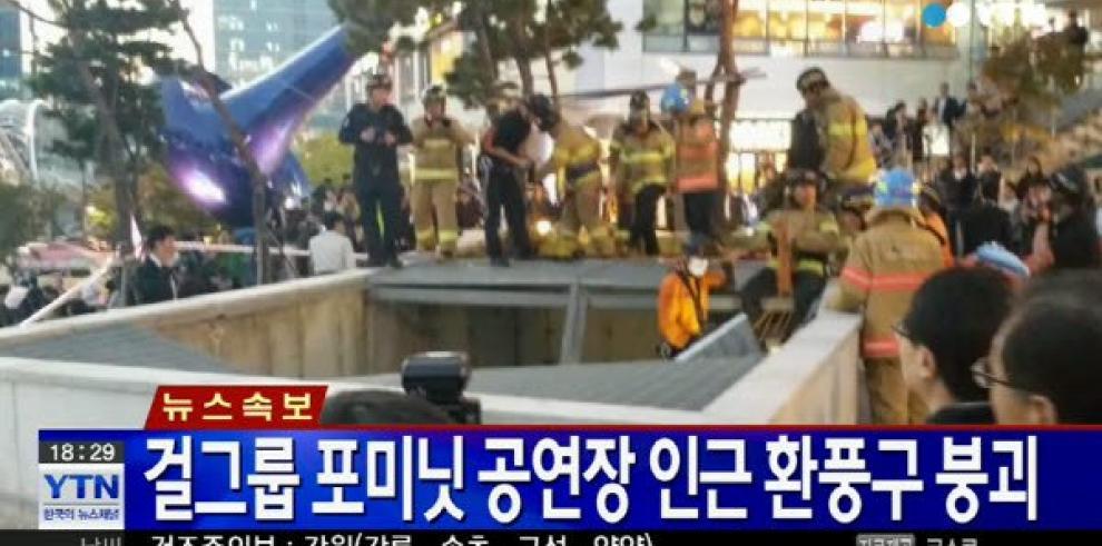 16 muertos y 10 heridos en un concierto cerca de Seúl