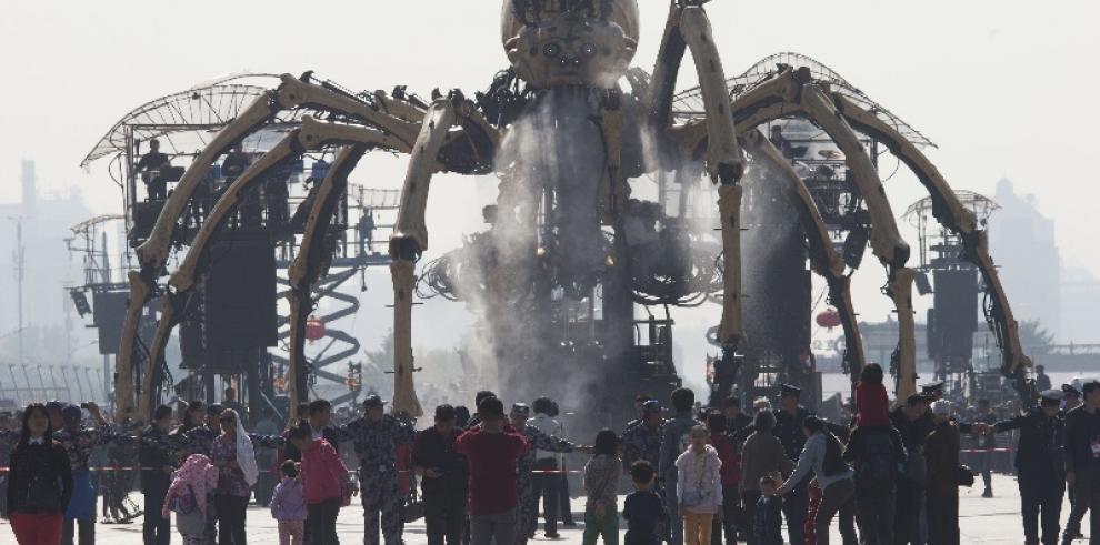 Animales mecánicos invaden Beijing