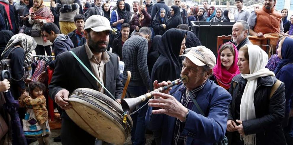 Celebración del Año nuevo Persa