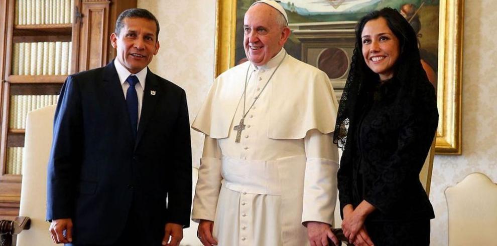 El papa y Humala coinciden en parar la política de descarte