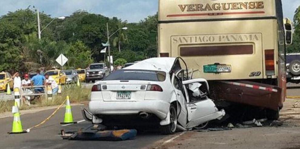 Fallece una persona en accidente de tránsito en Veraguas
