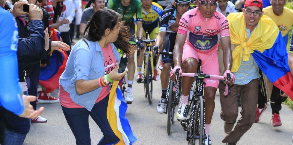Quintana, a un paso de la gloria en Italia