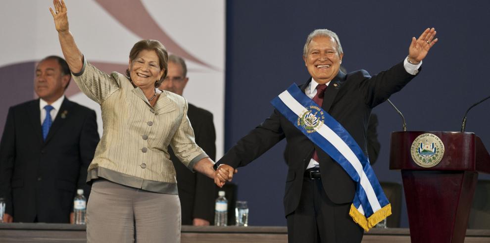Salvador Sánchez Cerén jura como presidente de El Salvador