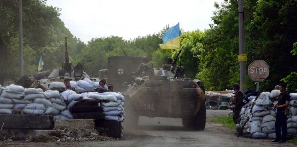 Seis militares muertos en combates en Kramatorsk