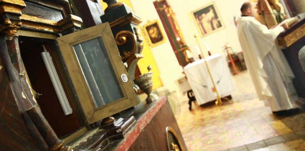 Los delincuentes 'visitan' las iglesias del Casco Antiguo