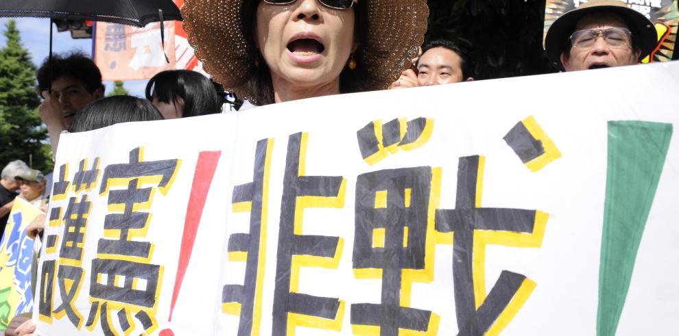 Japón se legitima para combatir en el extranjero, por primera vez en 70 años