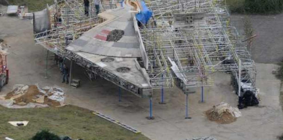 Divulgan imágenes de las naves de Star Wars, Episodio VII