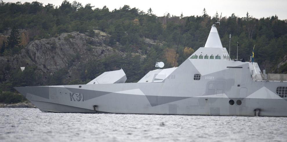 Suecia dispuesta a usar la fuerza contra presunto submarino