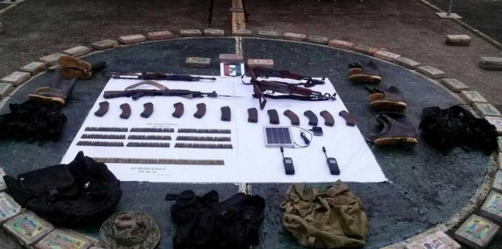Decomisan droga y armas en Tamaití de Darién