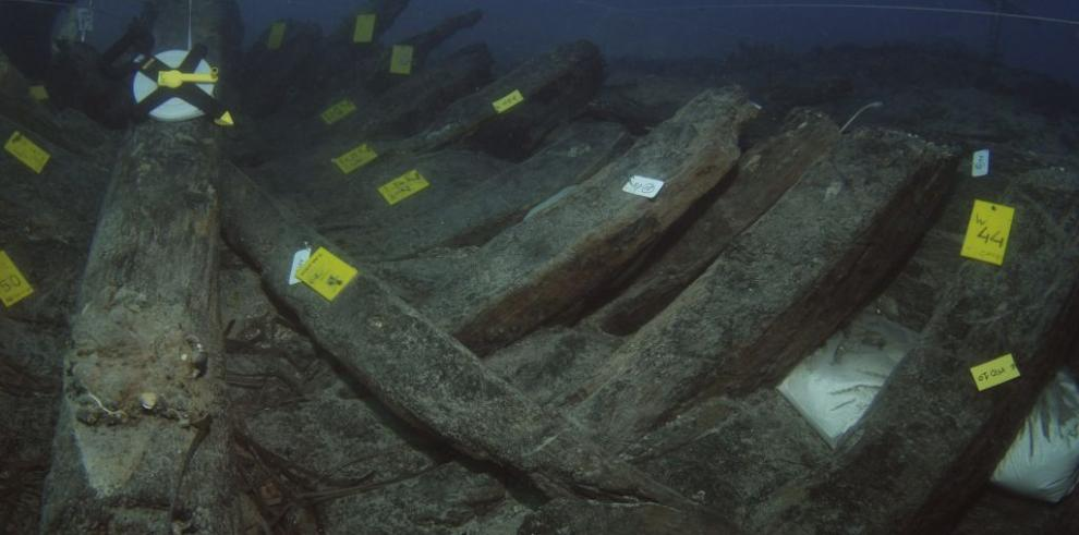 Arqueólogos griegos hallan barco español del siglo XVI hundido en mar Jónico