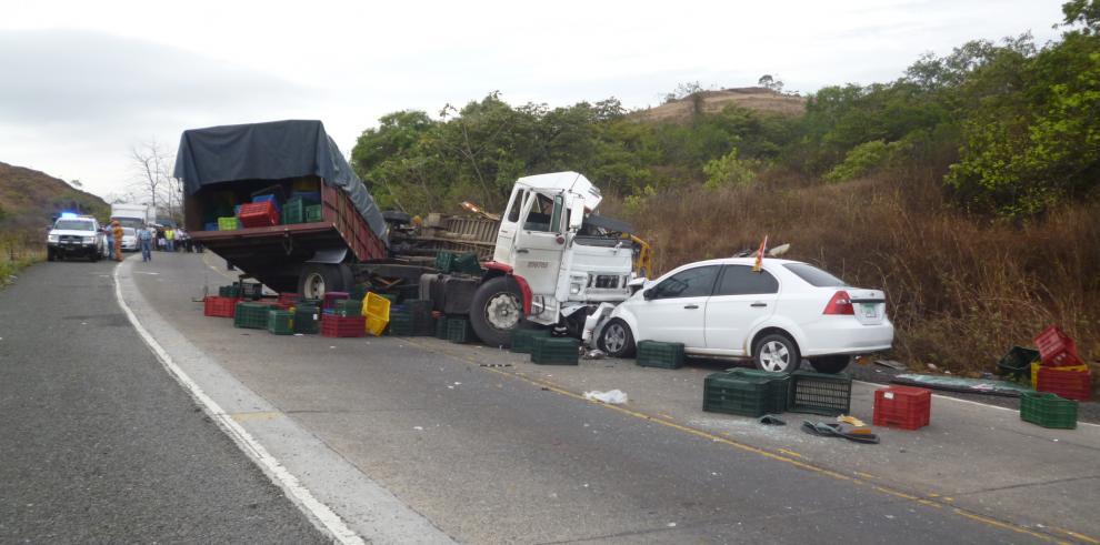 Accidente de tránsito en La Mesa de Veraguas, mueren seis personas