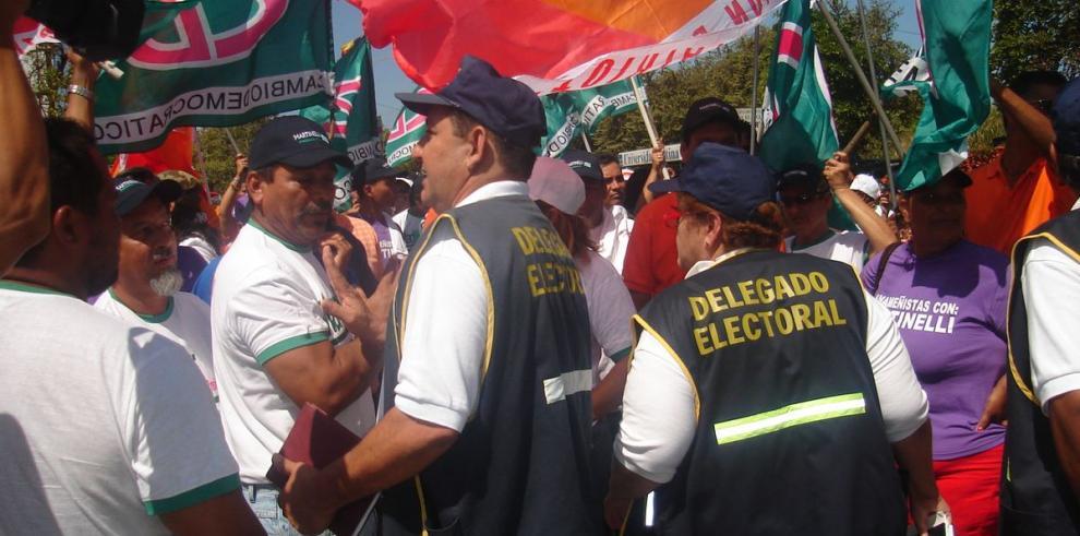 Delegados electorales, vigilantes del respeto a la democracia