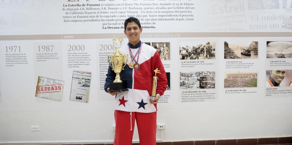 10 panameños ascenderán al salón de la fama de Artes Marciales en EE.UU
