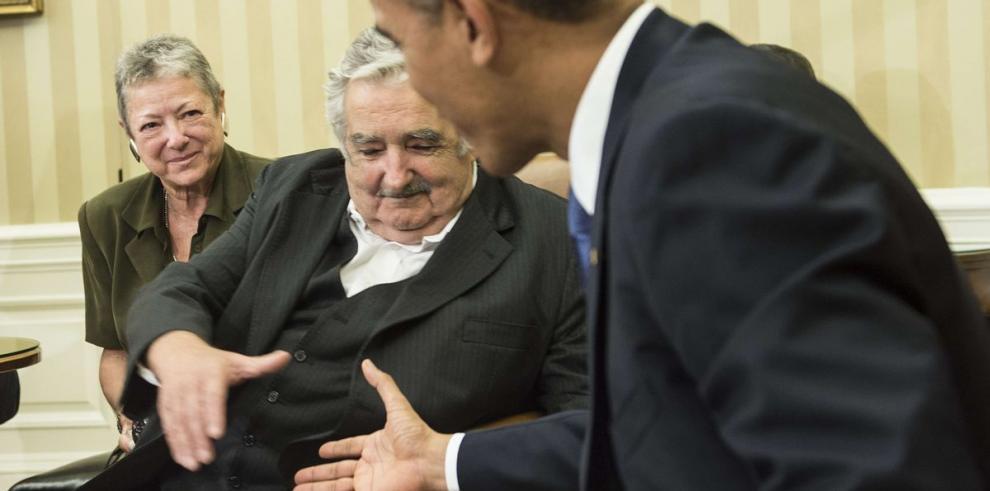 Presidente uruguayo sostuvo reunión con Barack Obama