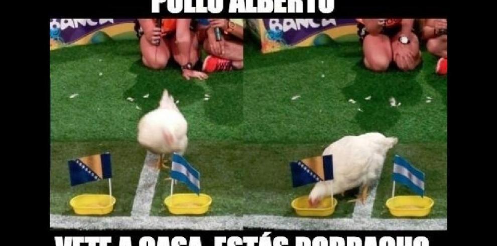 Los memes mundialistas de Messi y Argentina
