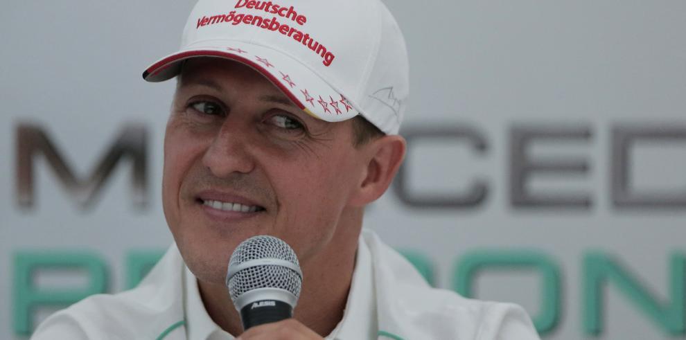El alemán Michael Schumacher sale del coma y deja el hospital