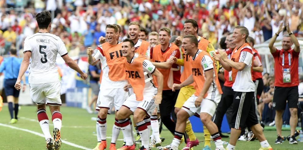 Alemania aplasta a Portugal 4-0 ¡Cristiano no encuentra el gol!