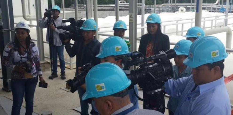 Periodistas y el Proyecto de Saneamiento