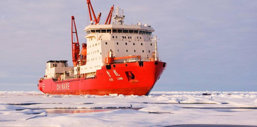 Parte 31ª expedición de China a la Antártida