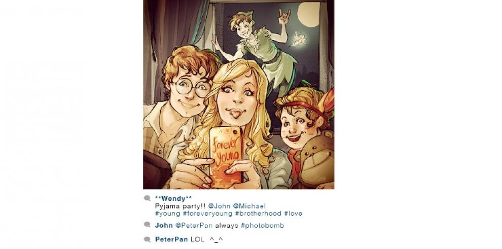 Personajes de Disney con cuenta en Instagram