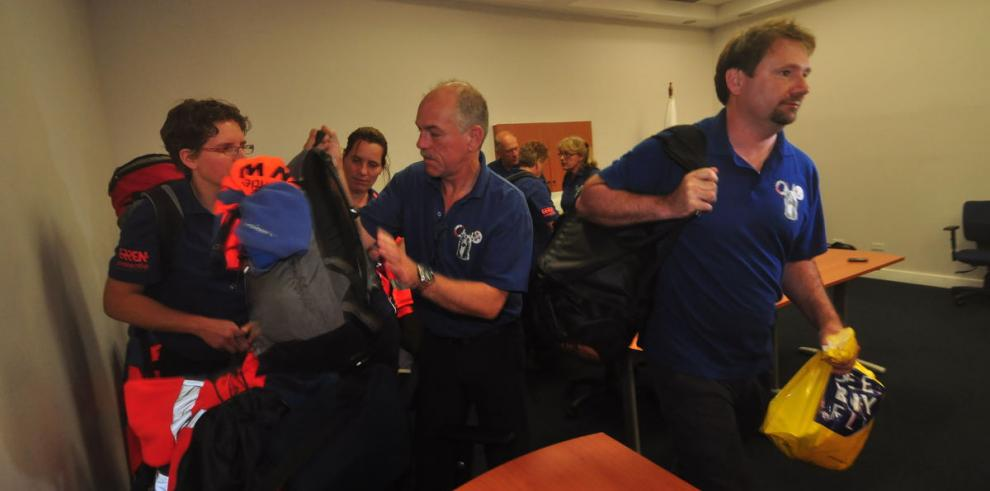El equipo de búsqueda holandés
