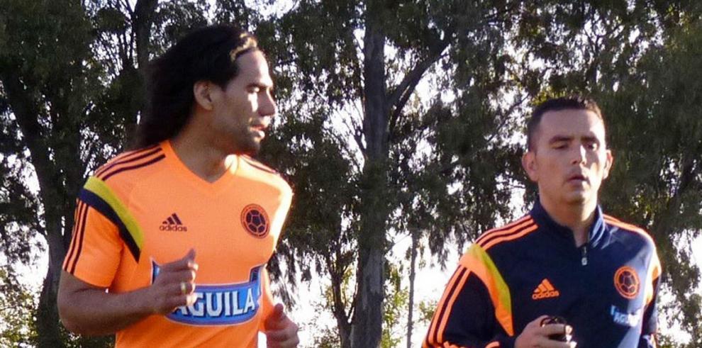 Falcao entrena con Colombia en Argentina en medio de cuidados