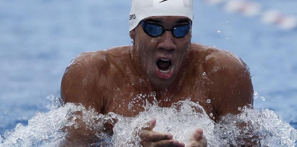 Edgar Crespo está listo para Sudamericano de natación