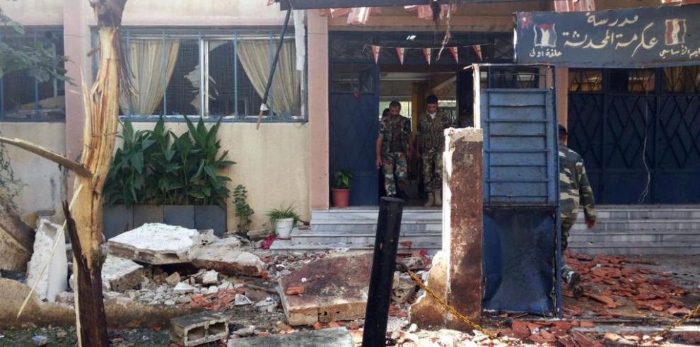 Al menos 31 muertos y 74 heridos en un atentado cerca de un colegio en Siria