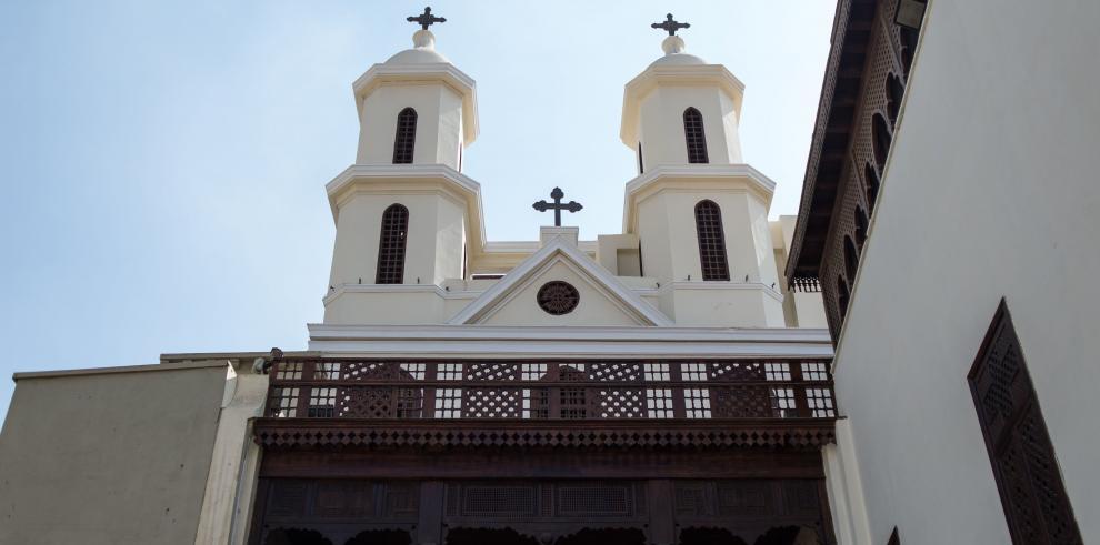 Restauran La Iglesia Colgante del Barrio Copto