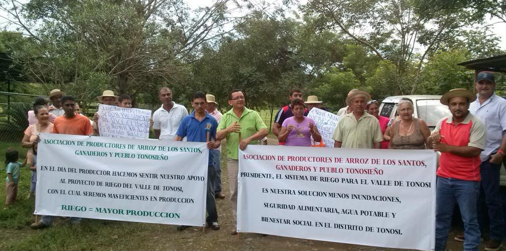 Arroceros de Tonosí quieren proyecto de riego